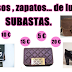 Bolsos de lujo, joyas, ropa de marca a ¡Subasta! con precios sorprendentes