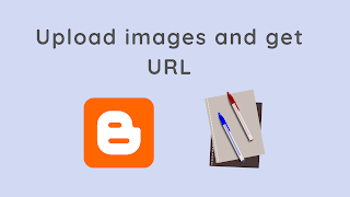 Upload an image and Get its URL