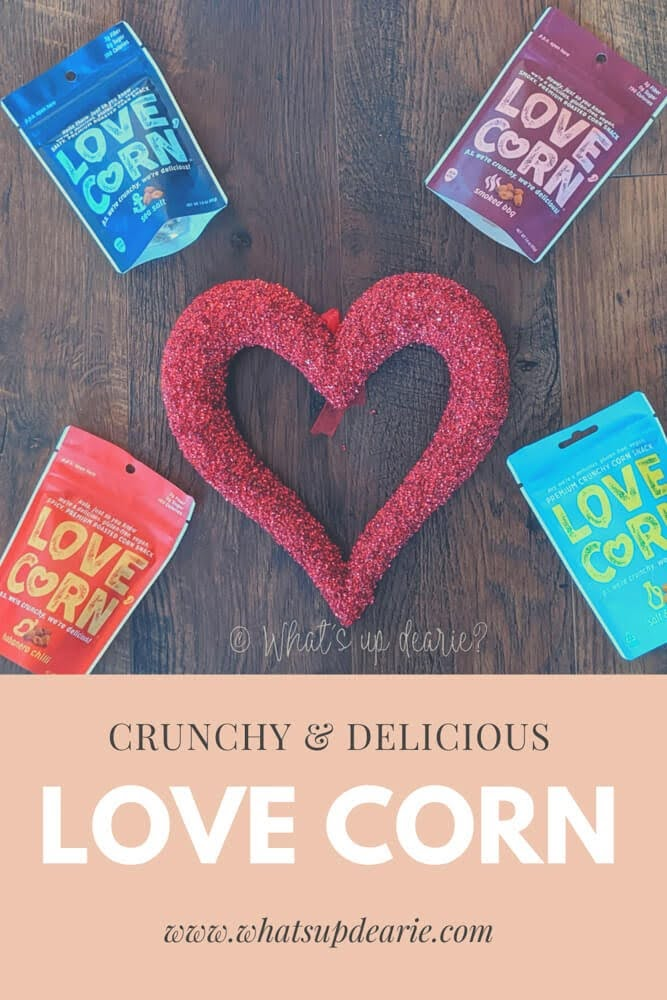 Love corn crunchy snack