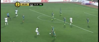 اهداف مباراة الرجاء البيضاوي وشبيبة القبائل