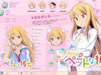 Sakurasou no Pet na Kanojo Theme Win 10 Ver. 1809 by Enji Riz Lazuardi