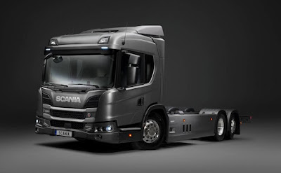 Scania lança na Europa nova geração de caminhões híbridos