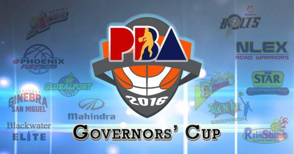 2016 PBA Governors' Cup Schedule, Live Stream Info, Results, Team Standings & Updates