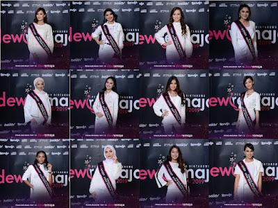 Senarai Peserta Finalis Dewi Remaja 2018/2019
