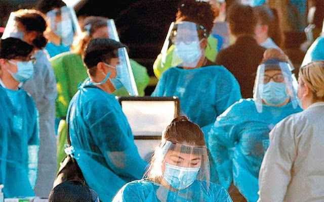 Εκτός ελέγχου η πανδημία στις ΗΠΑ