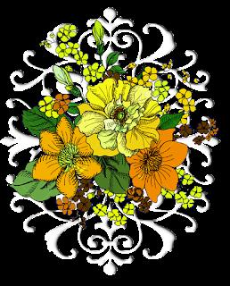 Damask-flower-motif-for-textile-design