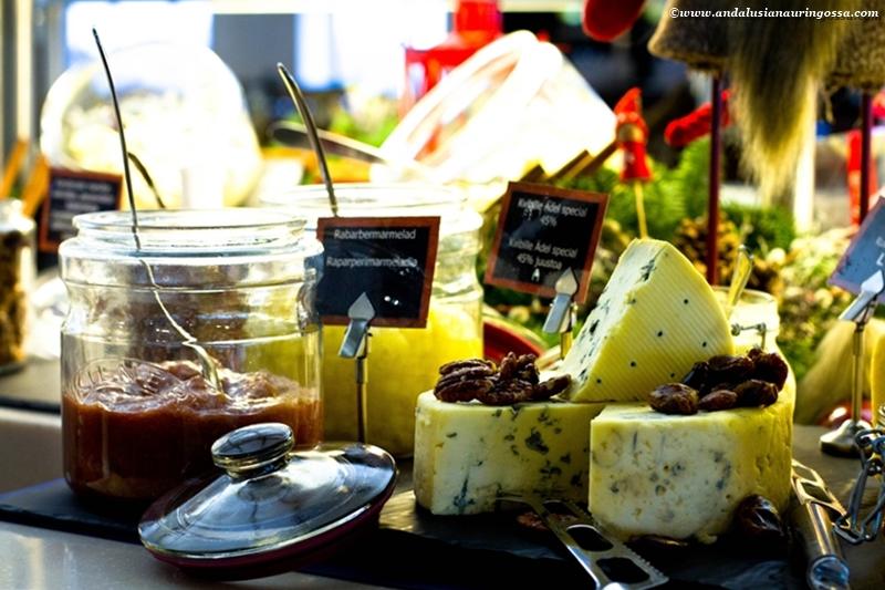 Viking Line joulubuffet 2016_juustopöytä