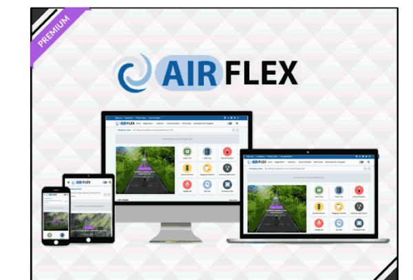 Air Flex - Magazine & News Blogger Template