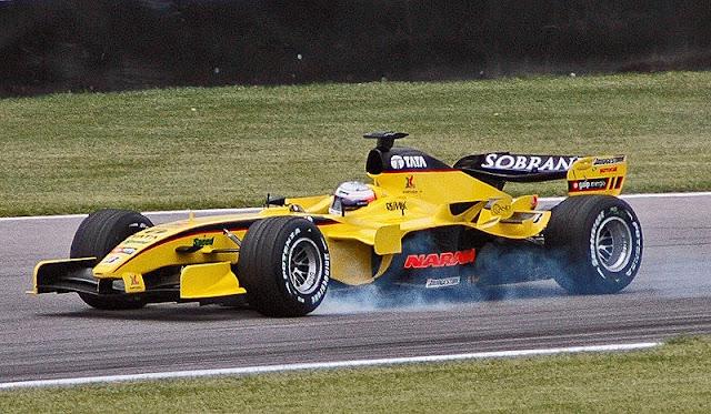 Gambar Mobil Balap F1 Jordan 02