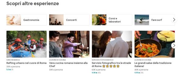 Cosa proporre come esperienza airbnb