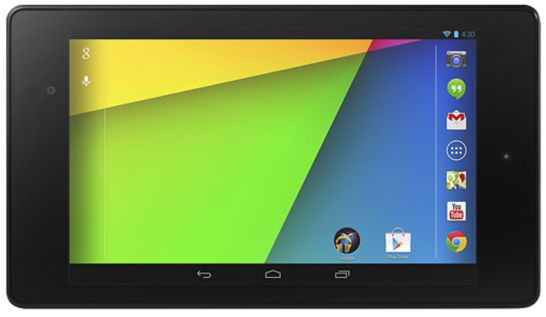 Google Unveils New Nexus 7 Android Tablet