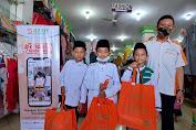 BMH Gelar Belanja Bareng Anak Yatim-Dhuafa