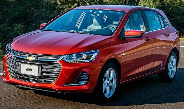 Ficha Técnica Chevrolet Onix 1.2 LT (2020)