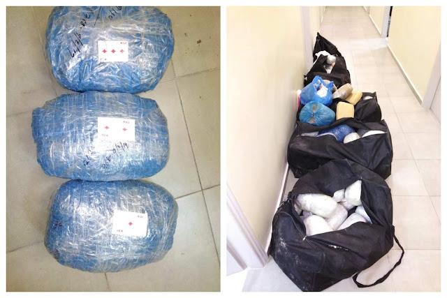 Θεσπρωτία: Συνελήφθησαν τρία άτομα με 113 κιλά κάνναβης