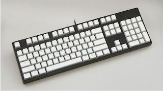 108 Key PBT OEM White Pudding Keycap Translucent Key Caps for Mechanical Keyboard