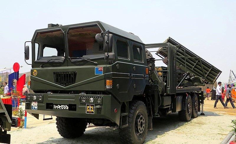 РСЗВ WS-22 армії Бангладеш