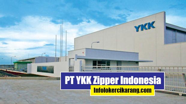 Lowongan Kerja PT YKK Zipper Indonesia Cibitung