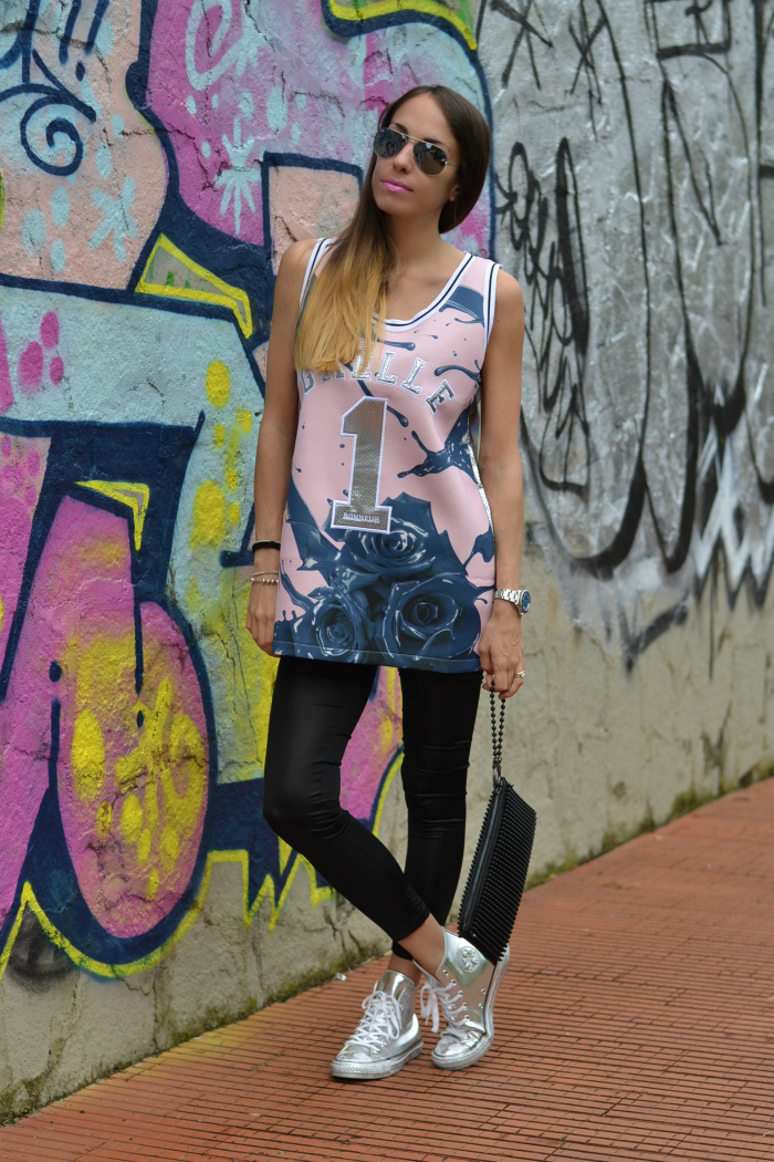 outfit converse argento