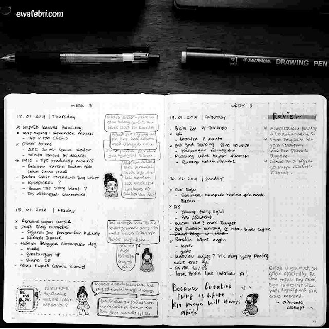 TIPS MENGISI BULLET JOURNAL