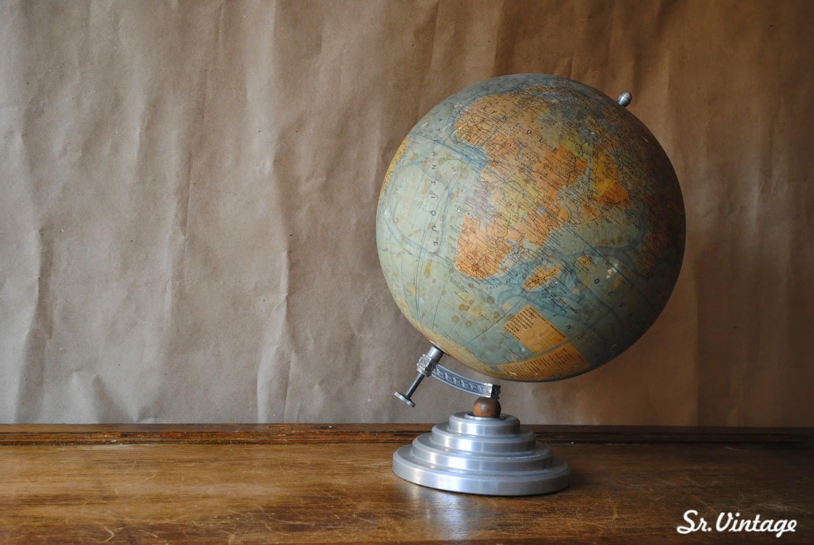 gran globo terrqueo francs