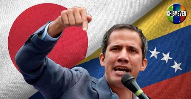 Gobierno de Japón anuncia que solo reconoce como presidente a Juan Guaidó