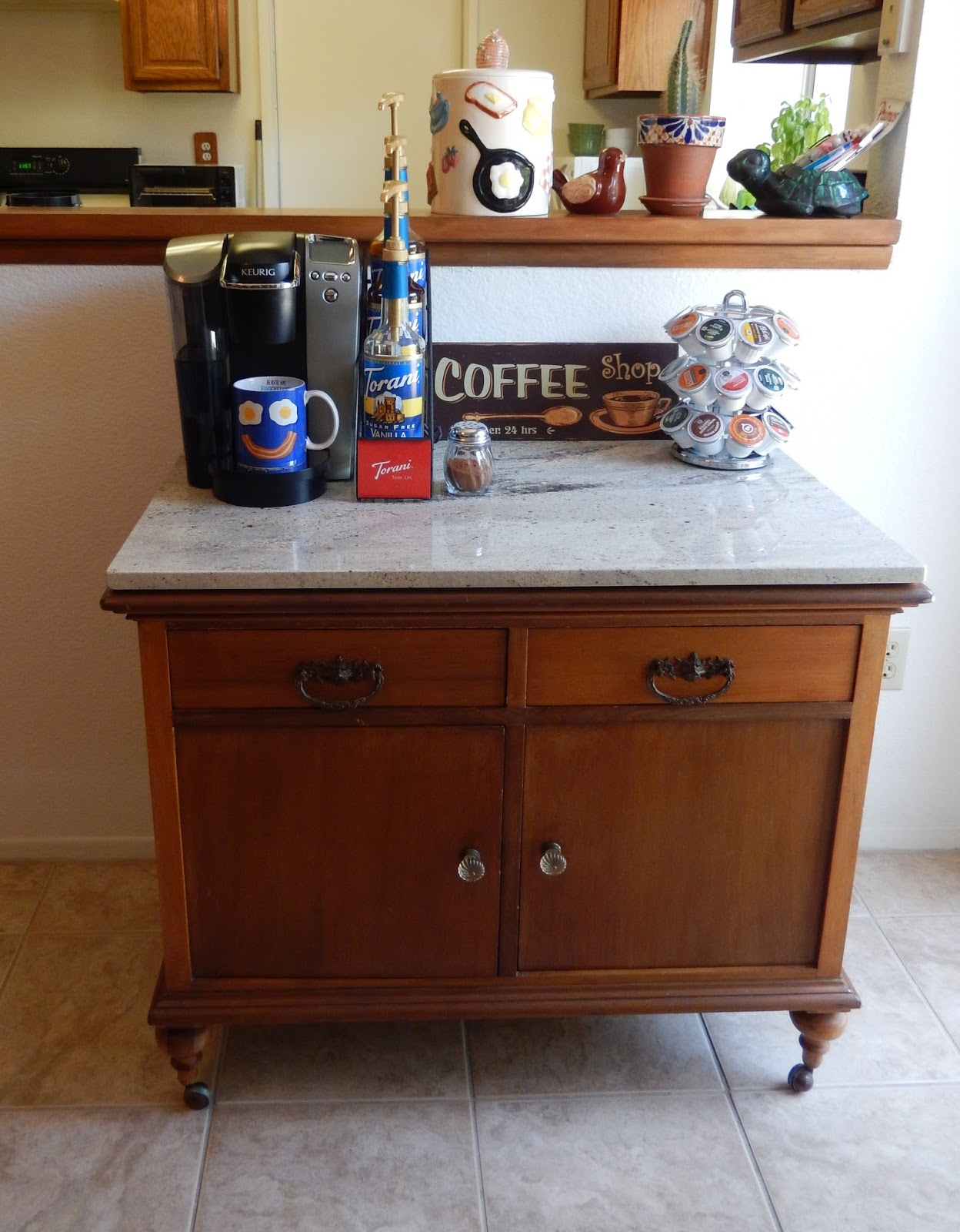 theworldaccordingtoeggface: My DIY Coffee Bar Project