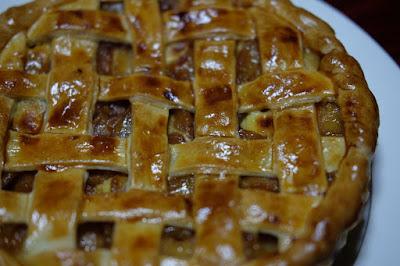 食後のアップルパイ