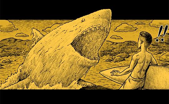 Hắc Ám Truyện #91: Có cá mập