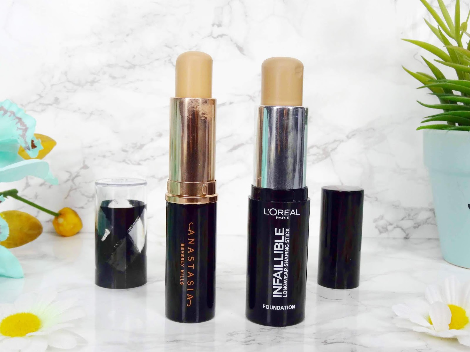 Two Foundations I Use When Tanning