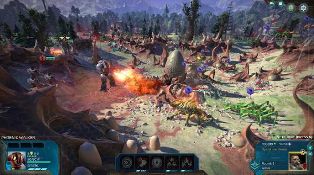 Age of Wonders Planetfall is an exciting real-time strategy game in which you will have to go to a distant planet and try to build your own Empire there, playing for one of the proposed factions.