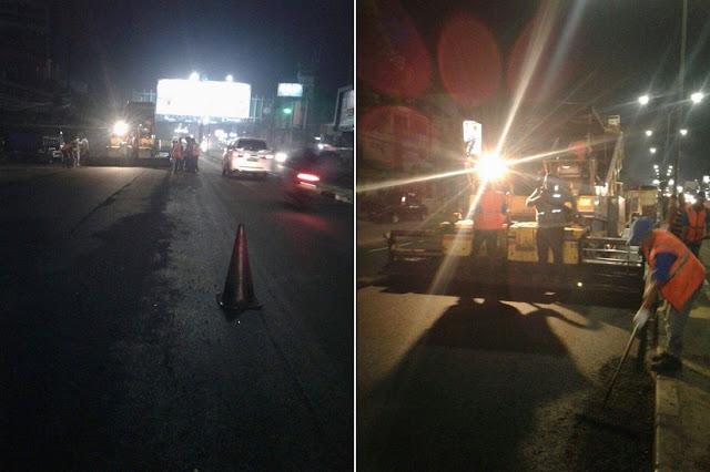 Hadapi Lebaran 2016, Dinas BMTR Banten Perbaiki Ruas Jalan Kota Tangsel
