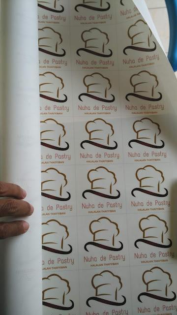 Stiker Label Roti