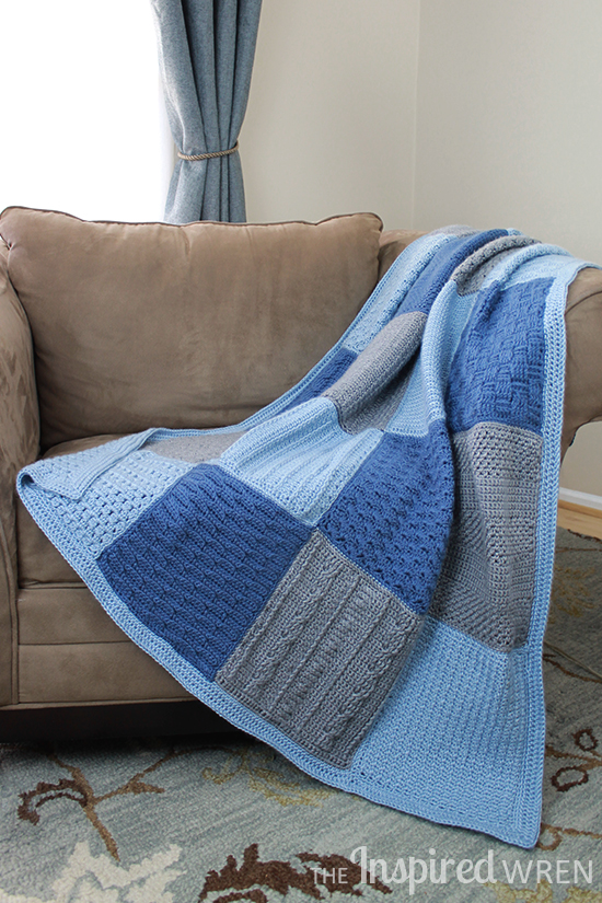 Gorgeous! Contemporary Crochet Afghan Sampler | The Inspired Wren