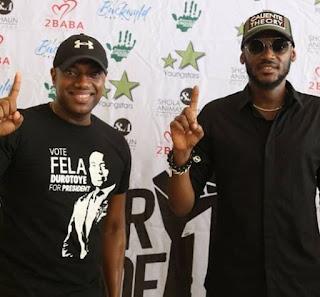 Fela Durotoye and 2facr Idibia
