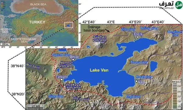 lake van in turkey