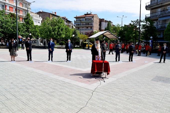 Τιμήθηκε στην Πόλη της Φλώρινας η Επέτειος των Εθνικών Αγώνων και της Εθνικής Αντίστασης Κατά του Ναζισμού και Φασισμού