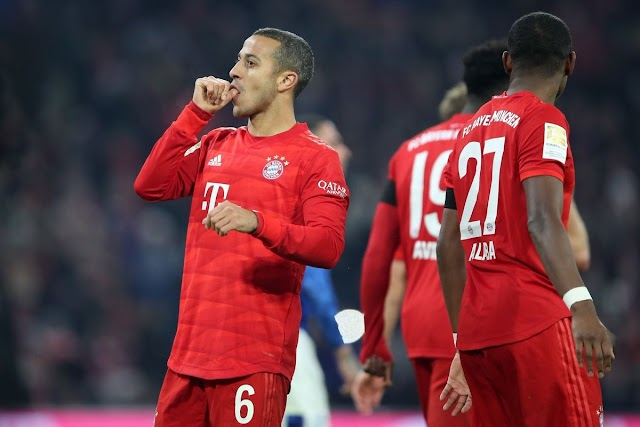 Bayern 5-0 Schalke: Bavarians only 1 pt behind Leipzig as Lewy & co. on fire