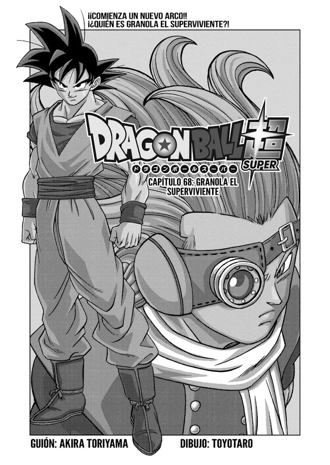 Dragon Ball Super Manga 68 Español