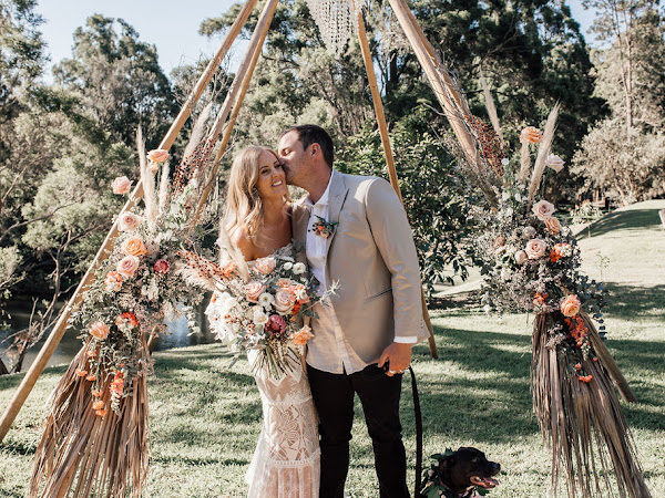 ➳ GEMMA AND JOSH | LUSCIOUS HIPSTER BOHO WEDDING FEATURE {GOLD COAST}