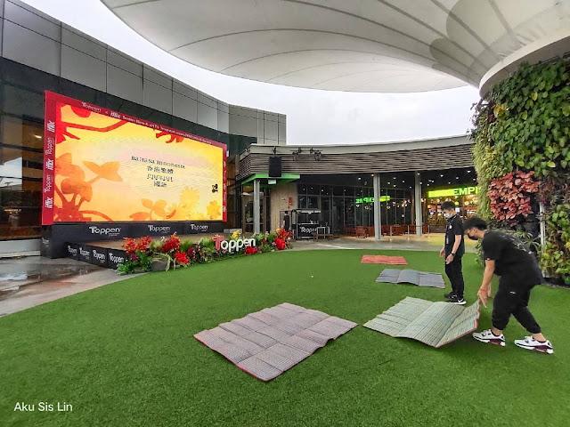 Pusat Beli-Belah Toppen meluaskan ruang runcit hiburannya dengan RoofTopp gaya hidup di parkir kereta bertingkat