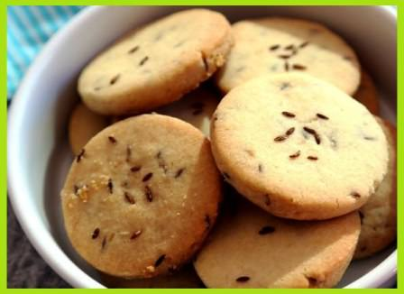 Jeera Atta Biscuits