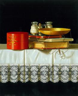 pinturas-realistas-composiciones-con-libros-y-cartas realistas-cuadros-libros-y-cartas
