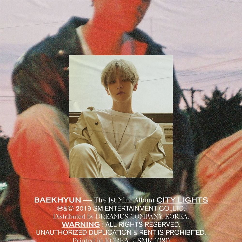 BAEKHYUN – City Lights – The 1st Mini Album