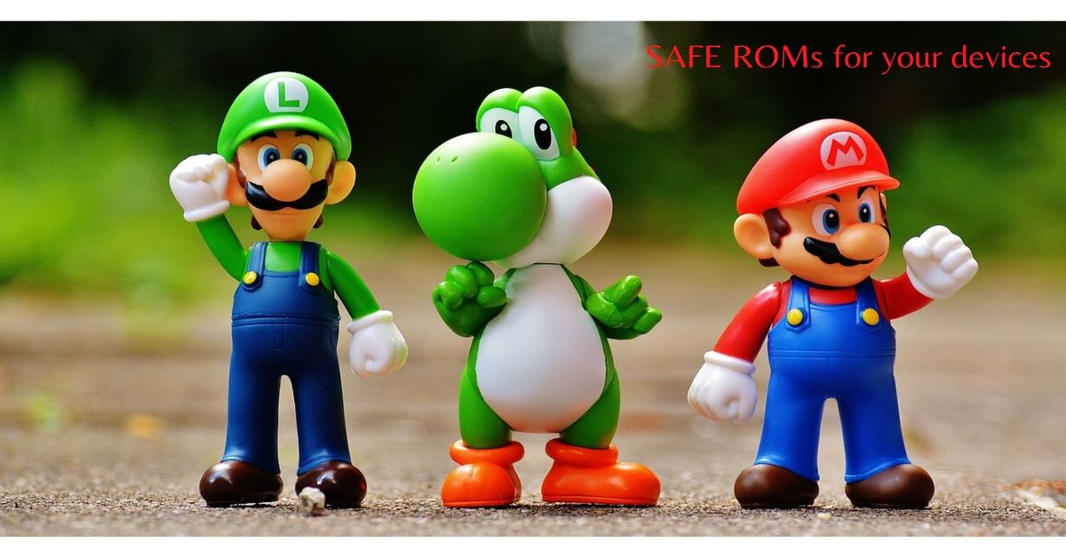 mario and other game characters in a single frame