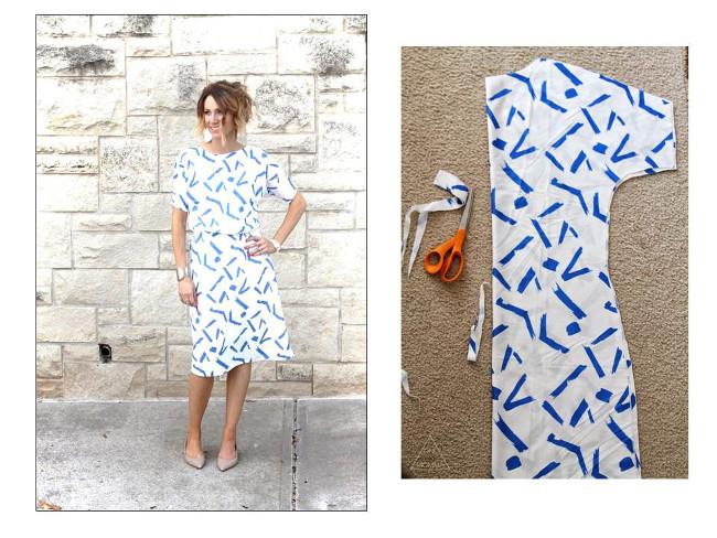 Extrêmement PATRON GRATUIT : Idées de couture facile pour l'été Bettinael  DQ05