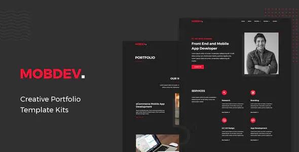 Best Creative Portfolio & Resume Elementor Template Kit