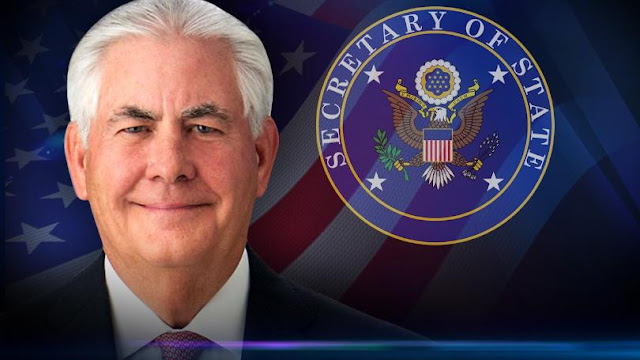 US Secretary Of State Rex Tillerson Fired