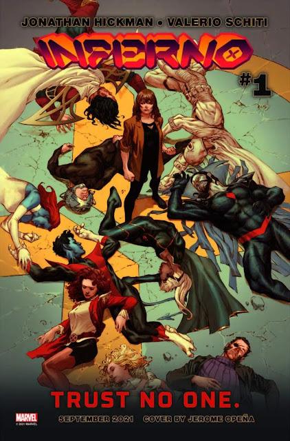Marvel lanza el tráiler de 'Inferno' con Storm, Destiny, Wolverine y Nimrod.