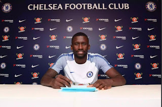 Roma's Rudiger Completes Chelsea Move