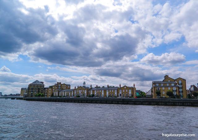 Passeio de barco a Greenwich, Londres